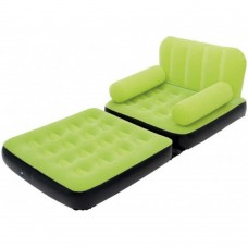 BESTWAY 2 in 1 Single Inflatable Chair And Bed