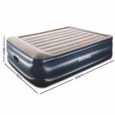 BESTWAY Airbed Inflatable Mattress (203 x 152 x 56 cm)