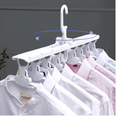 Multifunctional magic folding hanger