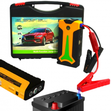 12V Automobile Emergency Mobile Power Supply Jump Starter With LED Lighting Charging