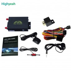 GPS / GPRS / GPS Tracker With Remote Control