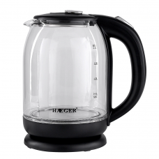 HAEGER 2L Electric Glass Kettle 2000W