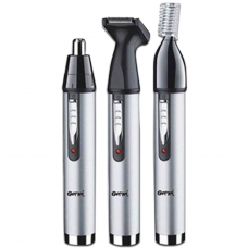 PROGEMEI 3 In 1 Nose and Ear Hair Trimmer - GM-3107