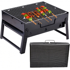 Portable and Foldable Outdoor Barbecue Grill