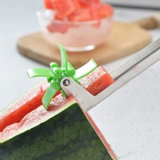 Melon Cutter Watermelon Cubes Slicer Stainless Steel