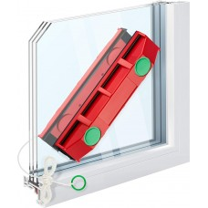 "Glare tools glider S-1 magnetic window cleaner for single-pane windows suitable for 0.08 ""up ​​to 0.3"" 2-8mm window"