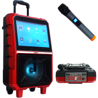 Portable High Quality Karaoke  Speaker With HD Screen