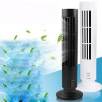 Blade Vertical USB Portable Air Cooler Fan Small Air Conditioner Office Cooling Tower Fan For Home Office Fan