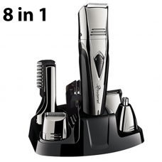 8in1 grooming kit electric shaver for men rechargeable electric razor body groomer trimer beard shaving machine eyebrow trimmer