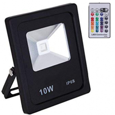 10W led flood light with remote control
