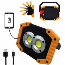 LED Work Light Rechargeable with USB Port