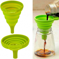 JoIe Collapsible Funnel, Green, 3 Inch