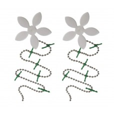 DRAINWIG Shower Drain Hair Catcher (2 Pack)